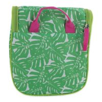 Sage & Emily Palm Leaf Bath and Body Organizer in Green