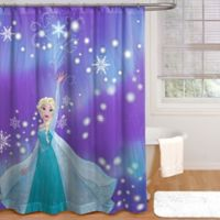 Disney® Frozen Snowflake Shower Curtain