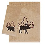 Saturday Knight Timberline Hand Towel in Wheat