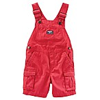 OshKosh B'gosh® Size 3-6M Cargo Shortall in Red