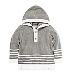 Burt's Bees Baby® Size 0-3M Hooded Sweater in Grey