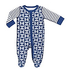 Boppy® Geo Sketch Footie in Navy