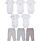 MiracleWear Size 3M 5-Pack Neutral Bodysuits and 3-Pack Pants Set