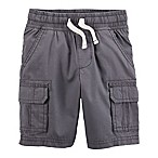 carter's® Size 12M Pull-On Cargo Short in Grey