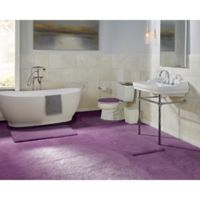 "Wamsutta® Ultra Soft Cut to Size 60"" x 72"" Bath Carpet in Deep Purple"