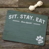 Farmhouse Style Dog Food Mat