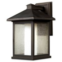 Filament Design Miahadfas 1-Light Outdoor Wall Sconce in Oil Rubbed Bronze