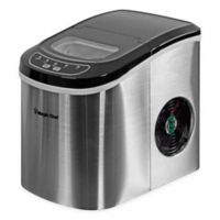 Magic Chef Portable Countertop Ice Maker in Stainless Steel