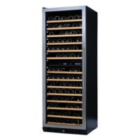 Wine Enthusiast N'Finity Pro Dual-Zone LX Stainless Steel Wine Cooler with Glass Door