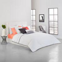 Lacoste Gorbio Twin/Twin XL Duvet Set in White