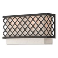 Livex Lighting® Arabesque 2-Light ADA Wall Sconce in English Bronze