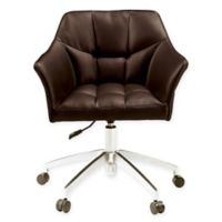 Scott Living Office Chair in Brown
