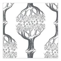 Brewster Home Celesta Tree Wallpaper in Grey