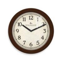 "11"" Slim Bronze Clock"