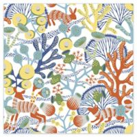 Brewster Home Fashions Wonderland Korall Multicolored Meadow Wallpaper