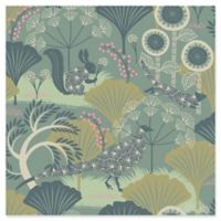 Brewster Home Fashions Wonderland Skog Forest Wallpaper in Green