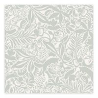 Brewster Home Fashions Wonderland Lumming Fox Wallpaper in Grey