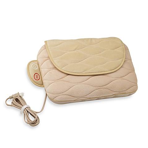 homedics® shiatsu plus vibration massage pillow - bed bath & beyond