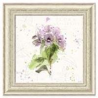 Amanti Art Floral Splash III 19-Inch Square Framed Wall Art