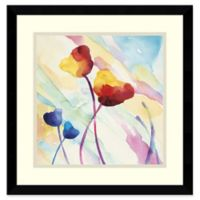 Amanti Art Tilt Tulips II 17-Inch Square Canvas Wall Art