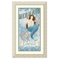 Amanti Art Mermaid I 20-Inch x 32-Inch Framed Wall Art