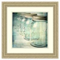 Amanti Art Canning Season V 19-Inch Square Framed Wall Art