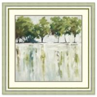 Amanti Art Reflections (Trees) 37-Inch Square Framed Wall Art