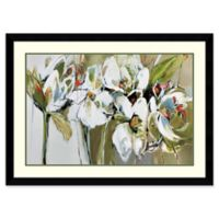 Amanti Art Spring Blooms (Floral) 45-Inch x 33-Inch Framed Wall Art