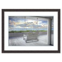 Amanti Art Swing at the Beach 43-Inch x 31-Inch Framed Wall Art