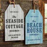 Home Away from Home 9.5-Inch x 17-Inch Wood Wall Tag