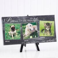 My Pets 5.5-Inch x 11-Inch Canvas Wall Art