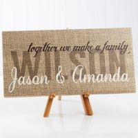 """Together We Make a Family"" Canvas Print"