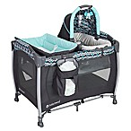 Baby Trend® Laguna Resort Elite Nursery Center Playard in Blue/Grey