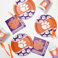 Clemson University 60-Piece Tailgating Kit