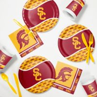 University of Southern California 60-Piece Tailgating Kit