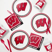 University of Wisconsin 60-Piece Tailgating Kit