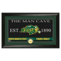 """North Dakota State University """"Man Cave"""" Bronze Coin Panoramic Photo Mint"""