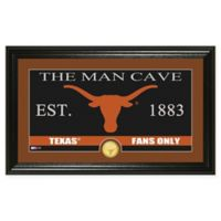 "University of Texas ""Man Cave"" Bronze Coin Panoramic Photo Mint"