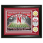 University of Nebraska Football Field Bronze Coin Photo Mint