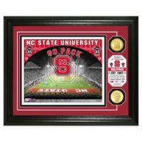 North Carolina State University Football Field Bronze Coin Photo Mint