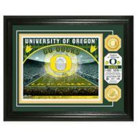 University of Oregon Football Field Bronze Coin Photo Mint