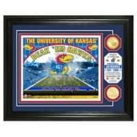 University of Kansas Football Field Bronze Coin Photo Mint