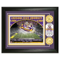 Louisiana State University Football Field Bronze Coin Photo Mint