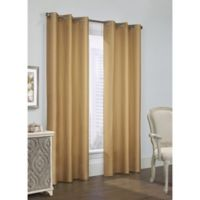 Thermalogic Prescott 63-Inch Grommet Window Curtain Panel Pair in Camel
