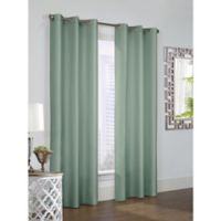 Thermalogic Prescott 84-Inch Grommet Window Curtain Panel Pair in Sage