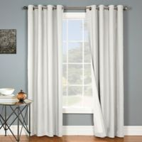 Nantucket 84-Inch Grommet Blackout Window Curtain Panel in White