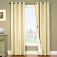 Nantucket 108-Inch Grommet Blackout Window Curtain Panel in Natural