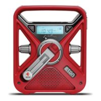 Eton FRX3+ Solar/Hand Crank/DC Powered Weather Radio and Phone Charger