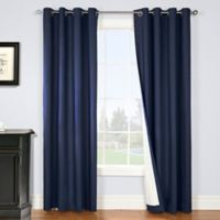 Nantucket 84-Inch Grommet Blackout Window Curtain Panel in Navy