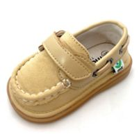 Mooshu Trainers™ Size 5 Sawyer Boat Shoe in Sand